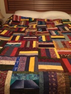Scrappy Strip Quilt Top